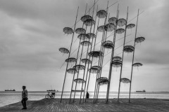B2-open-monochrome_GIORGOS_TSIGKAS_Umbrellas-in-the-city-of-Thessaloniki_greece